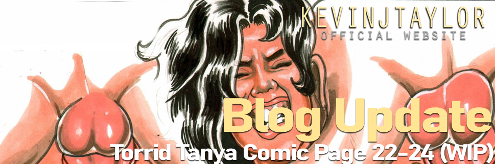 Torrid Tanya Page 22-24 Plus a New Pinup